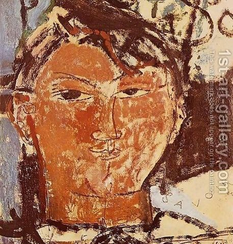 Portrait of Pablo Picasso from 1st-Art-Gallery.com